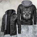 Hellfire Devil Skull Leather Jacket