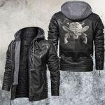 Skull Cowboy Leather Jacket