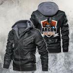 Argon Welding Motorcycle Leather Jacket