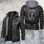 Dave Manalo Skull Leather Jacket