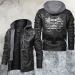 Skull Leather Jacket American Welder