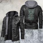 Zodiac Virgo Motorcycle Club Leather Jacket