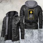 The Sun Tarot Card Leather Jacket