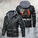 We Have A City To Burn Samurai Cyberpunk 2077 Motorcycle Rider Leather Jacket