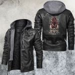 Zodiac Sagittarius Motorcycle Club Leather Jacket
