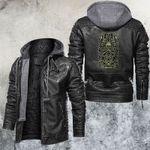 Zodiac Cancer Motorcycle Club Leather Jacket