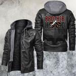 Brotherhood Motorcycle Club Leather Jacket