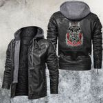 Bowl A Rama Motorcycle Club Leather Jacket