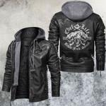Skull Leather Jacket Chef Life