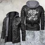 Los Machetes oe Carreras Skull Leather Jacket