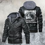 Welder Do It In All Position With 100% Penetration Motorcycle Leather Jacket