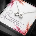 Infinity Hearts Necklace We will together until the end of time