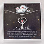 Stethoscope Necklace Nurse compassionate and caring ...