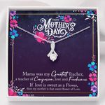 Alluring Beauty Necklace Mother's Day sweet flower of love
