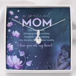 Alluring Beauty Necklace Mom I love you all my heart