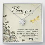 Love Knot Necklace You make me complete