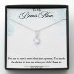 Mother day gift, gift for mom, To Bonus Mom-More than a parent