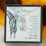 Giraffe Necklace for Daughter: My biggest achievement