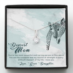 Mother day gift, gift for mom, To my mom you are the most beautiful