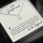 Sweetest Hearts Necklace My Girlfriend choose you over and over