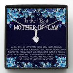 Mother day gift, gift for mom, to the best mother in law