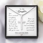 Cross Necklace for Daughter: You can do this