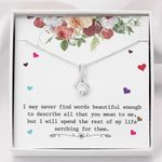 Alluring Beauty Necklace Love you