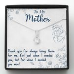 Mother day gift, gift for mom, thank you for always being there for me