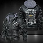 No body is perfect Chevy Leather Jacket 3