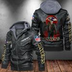 Brand new design RAVEN leather jackets