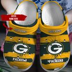 CUSTOMIZED - PACKERS CROCS - 12851TP