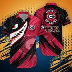 Georgia Bulldogs NCAA1-Hawaii Shirt Shark Summer Hawaii Style TD21532