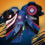 Texas Rangers MLB-Hawaii Shirt Shark Summer Hawaii Style TD21532