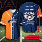 Custom Name Auburn Tigers Baseball Shirt