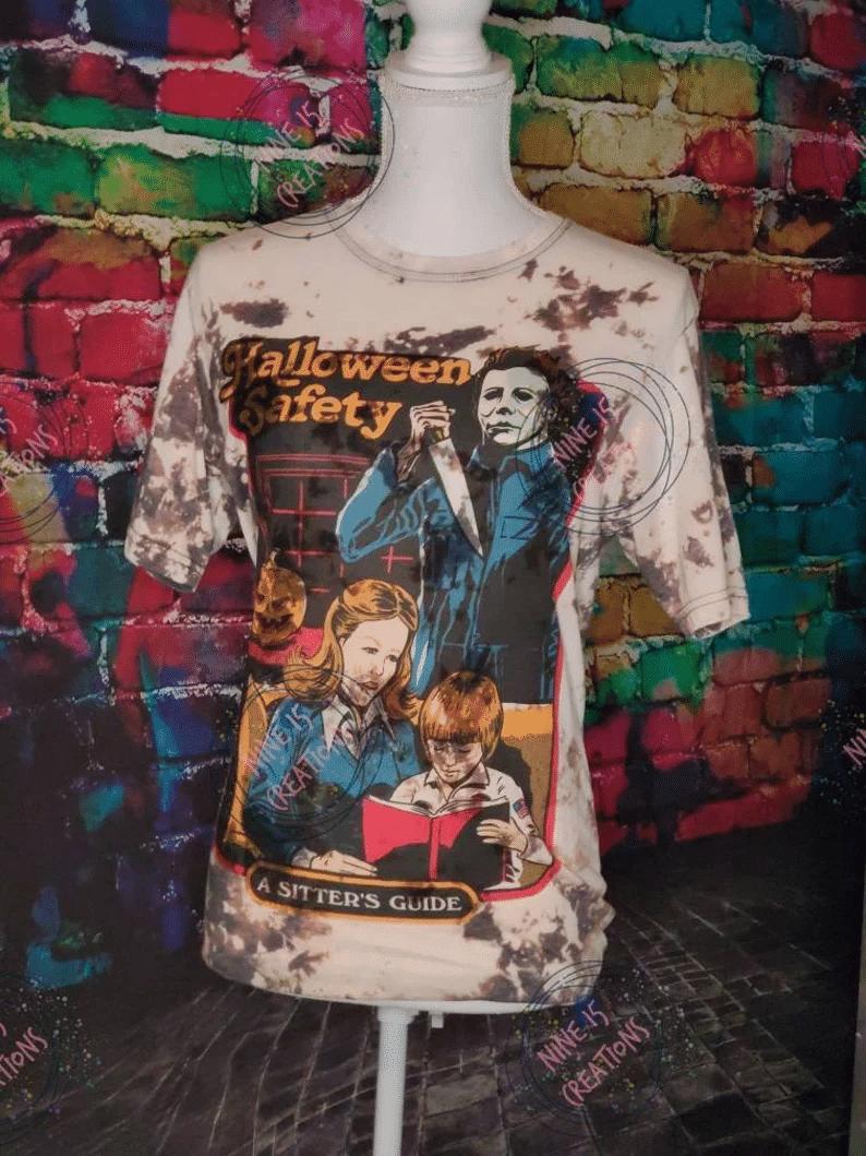 Michael Myers Shirt, Michael Myers, Horror Shirt, Halloween Shirt, Bleached Shirt