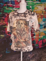 Michael Myers Shirt, Bleached Michael Myers Shirt, Bleached Halloween Shirt, Halloween Shirt, Bleached Horror Shirt, Horror Shirt 2