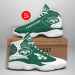 LIMITED EDITION Personalized NYJ JD13 Sneaker DC