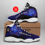 LIMITED EDITION Personalized Zodiac Aquarius JD13 Sneaker DC