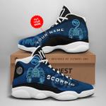 LIMITED EDITION Personalized Zodiac Scorpio JD13 Sneaker DC