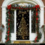 Golden Christmas Tree - DOOR COVER 2 - Nvc97