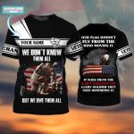 Veteran Day 11-11-Personalized Name-3D Tshirt - NVC97