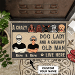 Dog house - 3D Doormat - Personalized Name 3D - H2k-h99