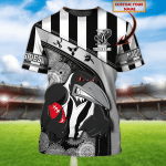 Magpies - Personalized Name 3D Tshirt - T2K 117