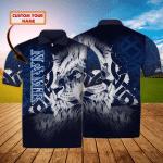 Scotland Lion - Personalized Name 3D Polo Shirt - LTA98