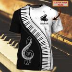 PIANO - 3D Tshirt 03 - NBTT