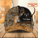 Deer hunting - Personalized Name Cap - TAD
