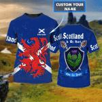 Scotland 001 - 3D Tshirt - HN95