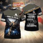 Veteran 07-Personalized Name-3D Tshirt-Nvc97