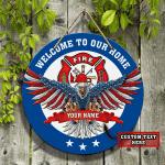 Custom Wooden Sign - Firefighter 2 - LTA98
