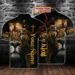 Lion King - Personalized Name 3D Polo Shirt - LTA98